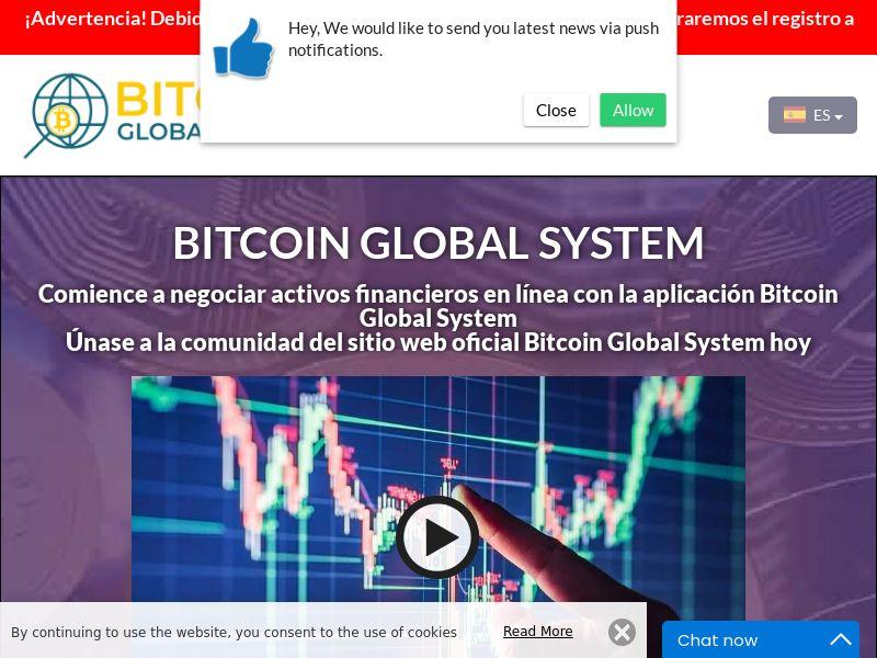The Bitcoin Global System Spanish 2698