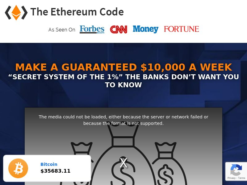 The Ethereum Code (MultiGeo), [CPA]