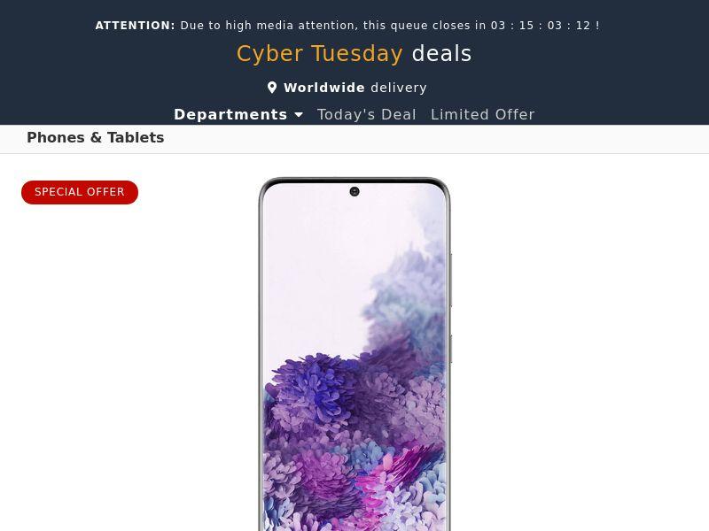 Samsung Galaxy S20 (Amazon) - IE