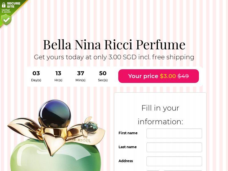 Bella Nina Ricci Perfume - SG