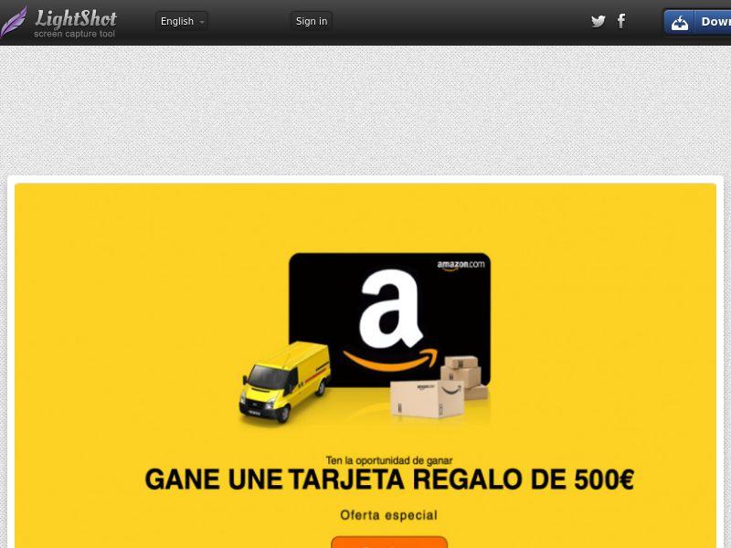 Green Flamingo Leadmarket - Amazon (ES) (CPL) (Personal Approval)