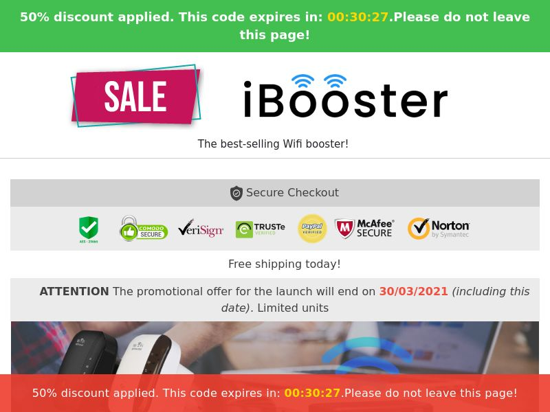 iBooster (PPS) - eCommerce - WW