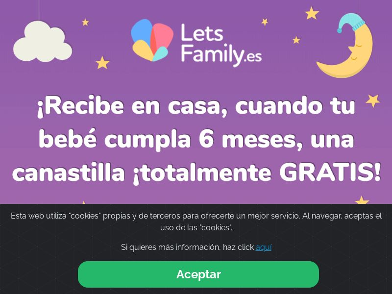Letsfamily - ES (ES), [CPL], Lotteries and Contests, paypal, survey, gift, gift card, free, amazon