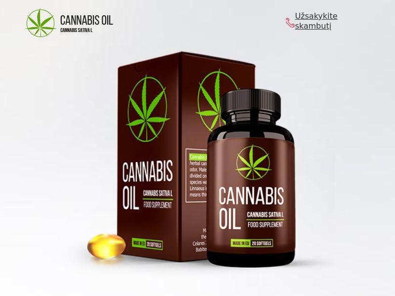 Cannabis Oil LT (hypertension)