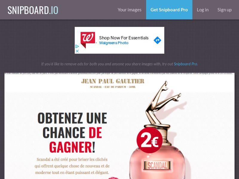 BigEntry - Jean Paul Gaultier Perfume v1 FR - CC Submit