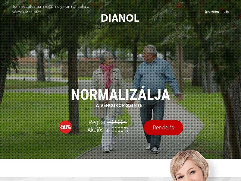 Dianol HU - sugar control supplement