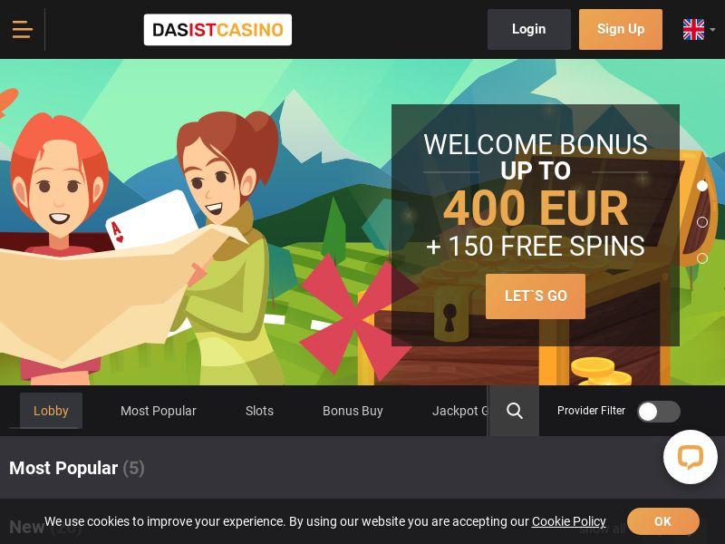 Dasistcasino.com Casino CPA - FI, NO, AT, AU, DE & PO