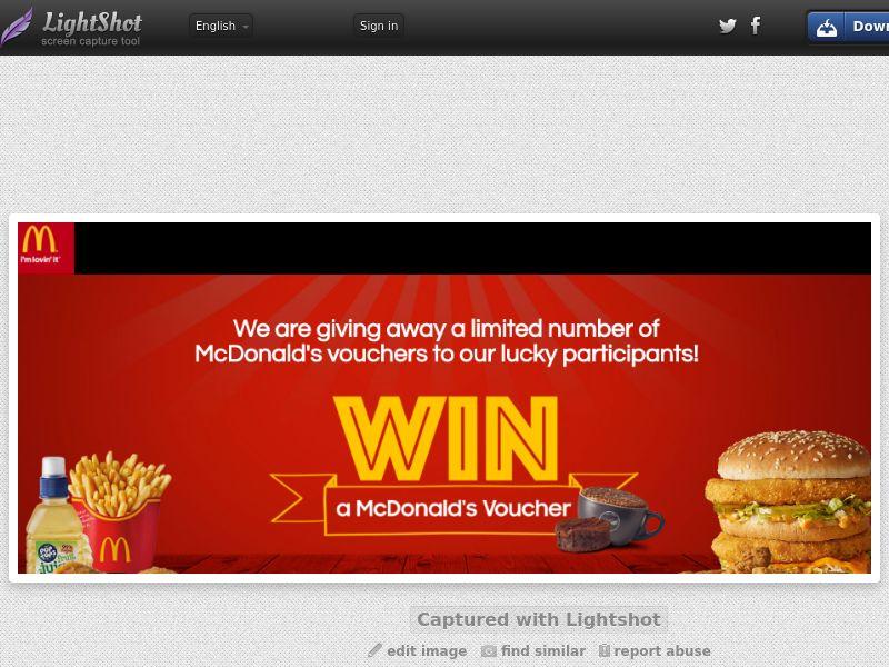[SOI] McDonald's SG