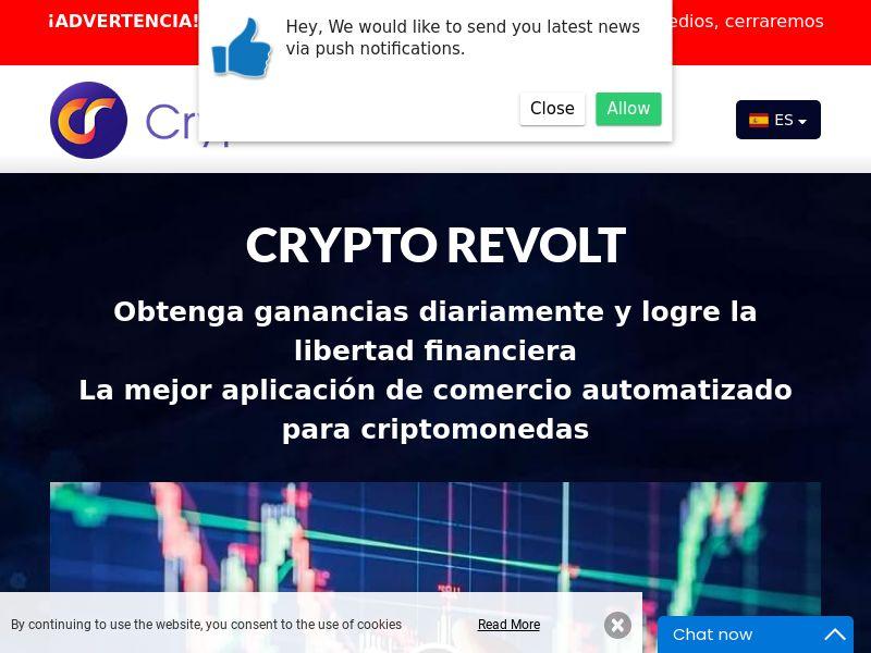 Crypto Revolt Spanish 2135