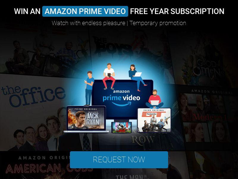 Amazon Prime Video Sweeps - INCENT - AU