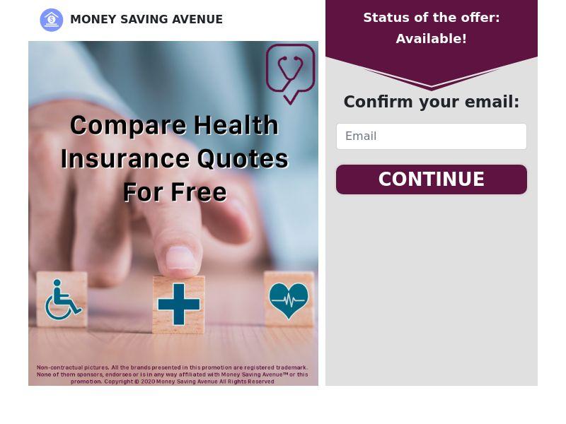MoneySavingAvenue - Health Insurance - CPL - US [EXCLUSIVE]