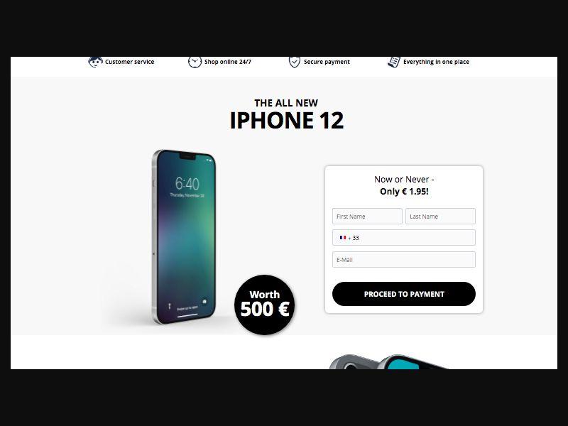 iPhone 12 Pro - CC - FR (FR), [CPA]