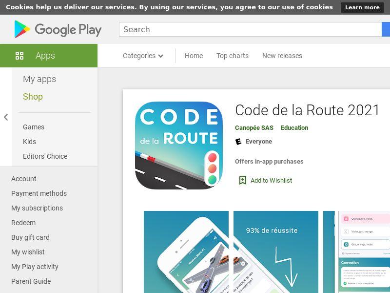 Code de la Route 2021 Android - FR