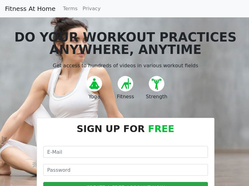 (13699) Fitness At Home - Multi Geo - CC submit