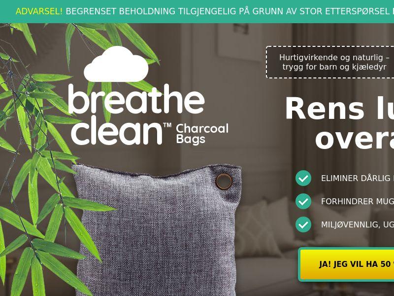 Breathe Clean Charcoal Bags LP01 (NORWEGIAN)