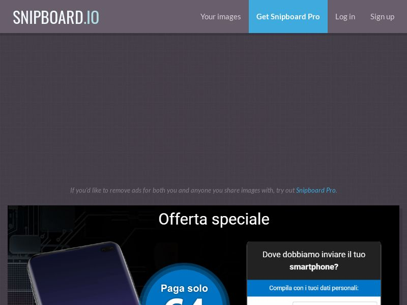 40531 - IT - Lotto24 - Samsung Galaxy S10 + Galaxy buds - CC submit cap 100