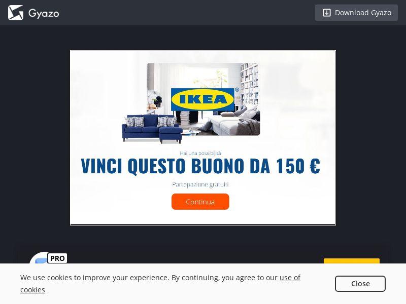 IKEA Voucher (IT) (CPL)