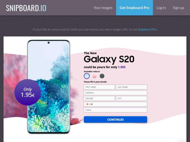 37668 - ES - G33K Premium - Samsung Galaxy S20 - CC submit