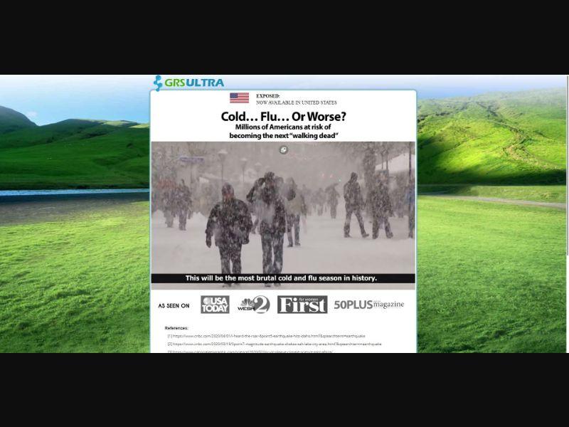 GRS Ultra Cell Defense - VSL - Health - SS - NO SEO - [US]