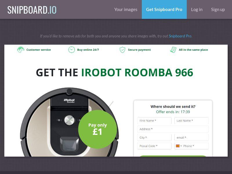 39851 - CA - OrangeViral - B - Irobot Roomba - CC submit
