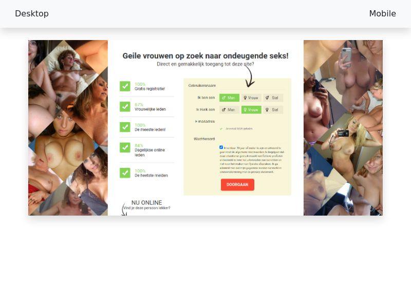 EroMatch.com - CPL SOI - DE, AT, CH, BE, NL - WAP+WEB, Male 18+