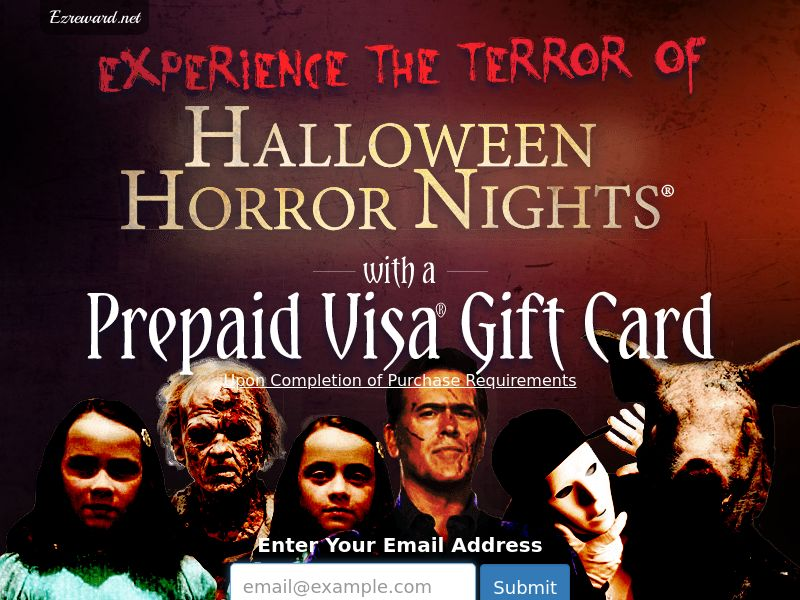 Halloween Horror Nights - US - Incent