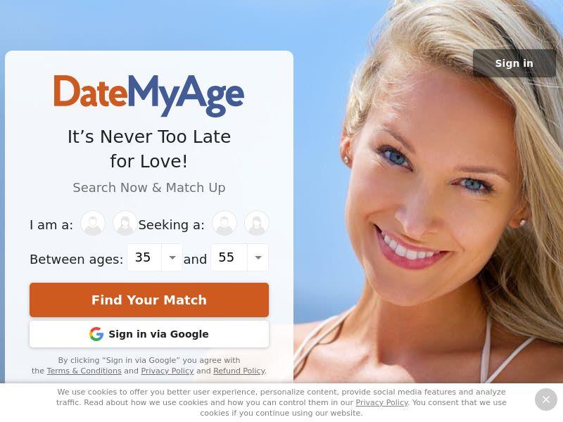 DateMyAge (Mainstream) - SOI - Responsive - AU/CA/NZ/UK/US