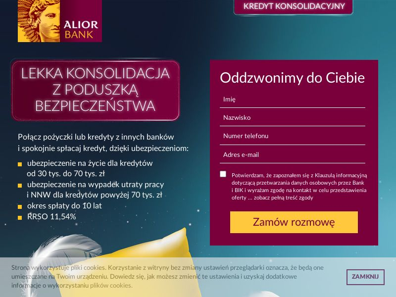 Alior Bank - Kredyt konsolidacyjny (PL), [CPS], Business, Credit, Mortgage credit, Cash credit, Loan Approval, loan, money, credit