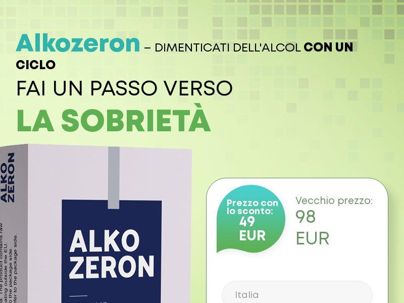 Alkozeron IT - alcoholism treatment product