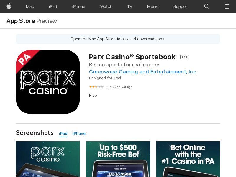 Parx Casino® Sportsbook