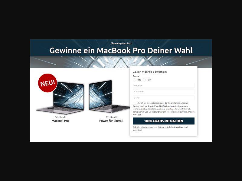 Macbook Pro - Sweeps SOI (DACH)