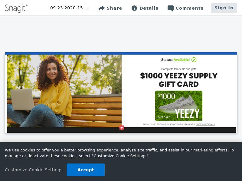 Yeezy Supply $1000 - SOI | US