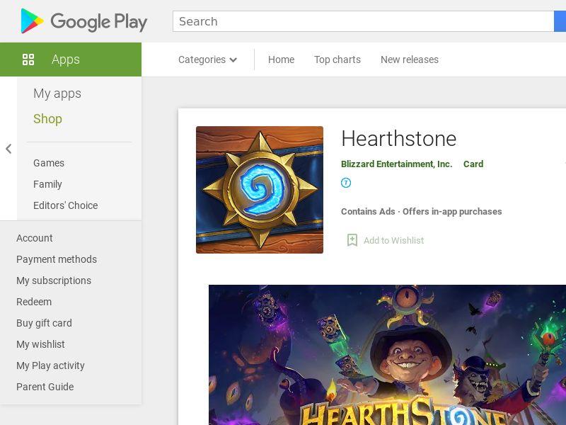 Hearthstone Android KR (hard kpi)