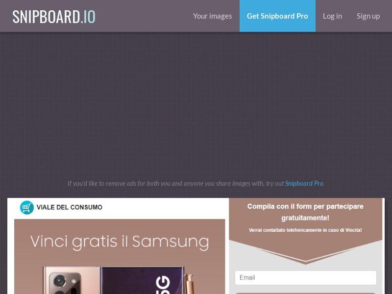 41916 - IT - Viale del Consumo - Samsung Note 20 5G - SOI