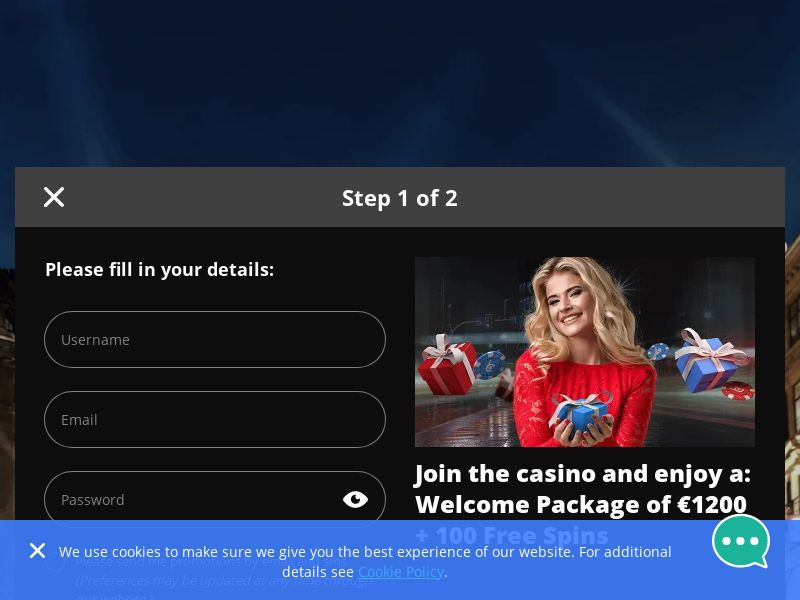 bcasino [DE,AT,CH] (Email,Social,Banner,Native,Push,SEO,Search) - CPA