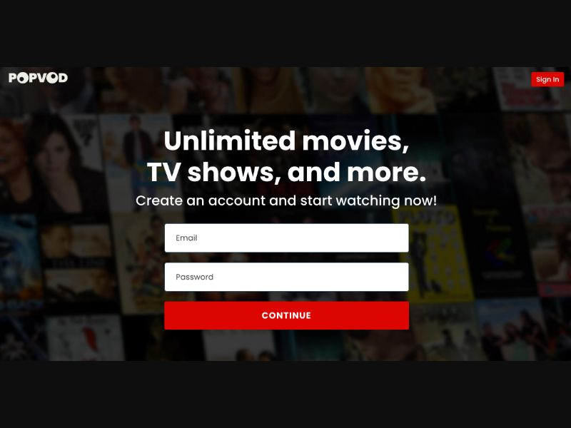 Netflix signuop - CC Submit - Tier2 - Sweepstakes - Responsive