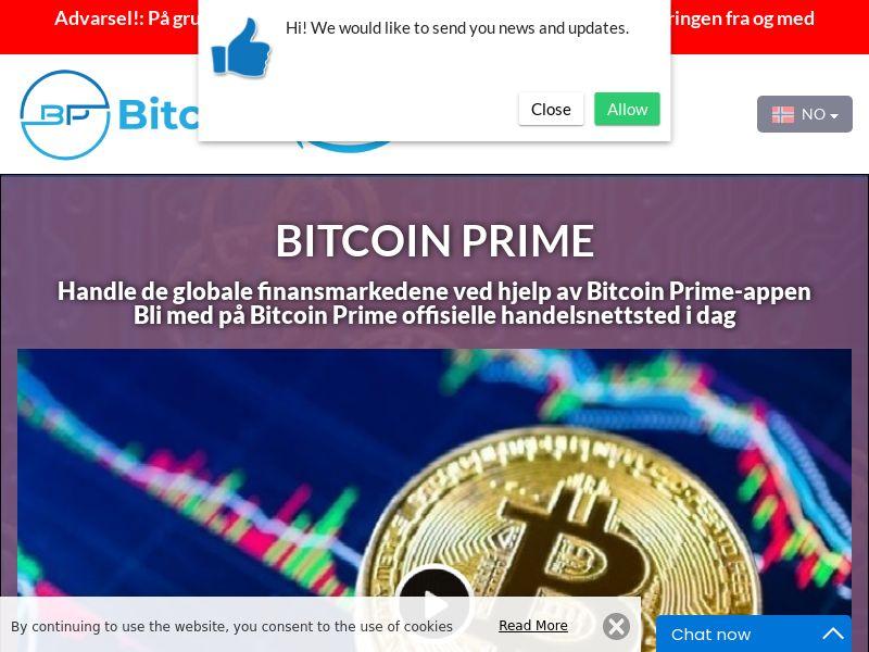 Bitcoin Prime Norwegian 2603