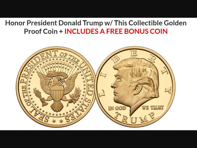 Gold Coin – TRUMP