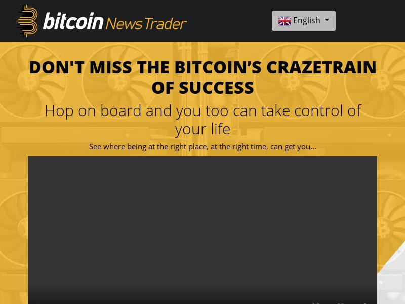 Bitcoin News Trader - UK, NL, FI, IS, IE, NO, SE, CH, DE, DK, HK, NZ