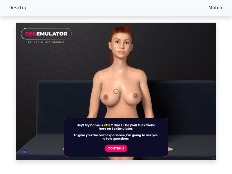 SexEmulator $1 Trial - [PPS] - [AU, CA, UK, US] - Male 18+