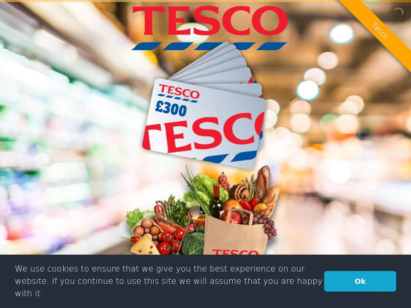 Tesco UK - Mobile and Desktop - UK (Sweepstakes) SOI - Two page submit - Incent OK