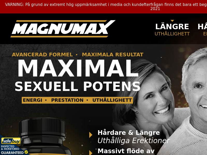 Magnumax LP01 (Swedish)