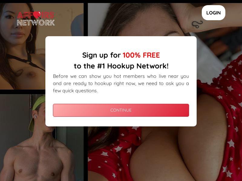 AffairsNetwork.com - Direct Advertiser - Adult Dating - PPS - US, CA, UK, NZ, AU