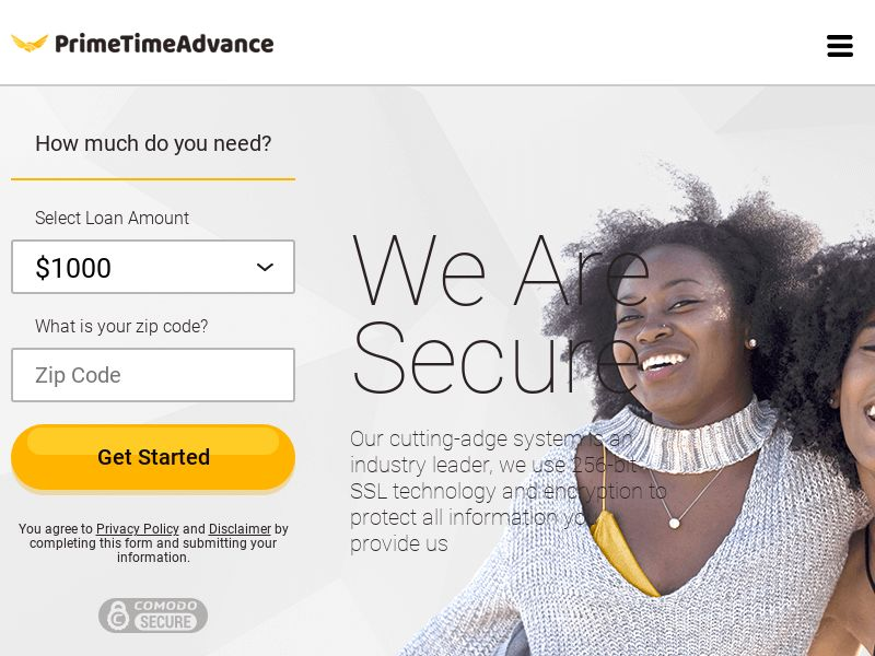 Primetimeadvance - Personal Loan US Revshare (Email only)
