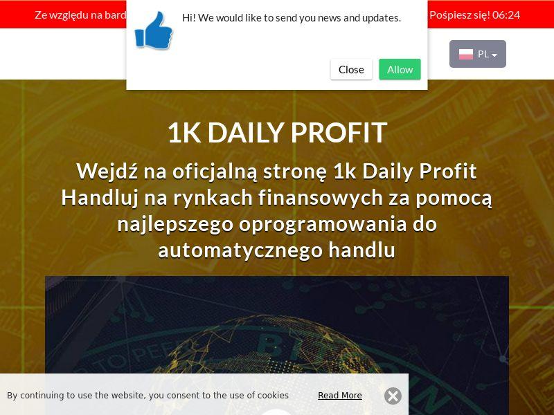 1k Daily Profits Polish 2272
