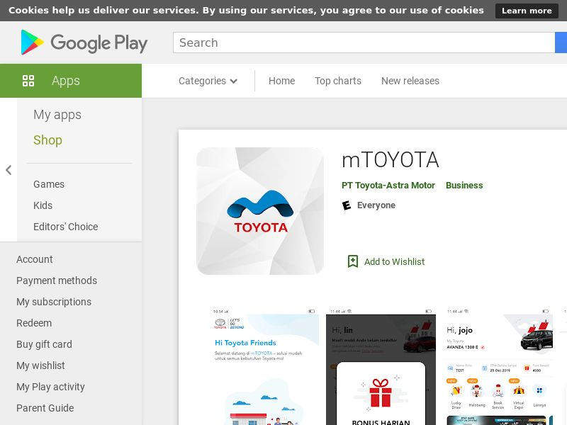mTOYOTA CPA (Android 5.0+) ID - Non incent