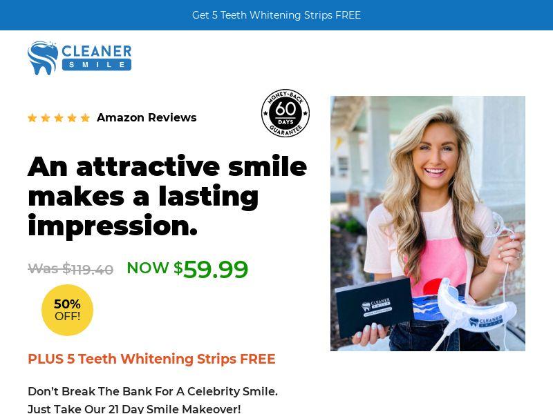 Cleaner Smile LED Kit