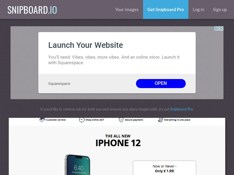 G33K Premium - iPhone 12 Pro *THE LEAD WOLVES EXCLUSIVE* FR - CC Submit