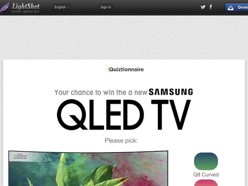 Win a Samsung TV! - AU