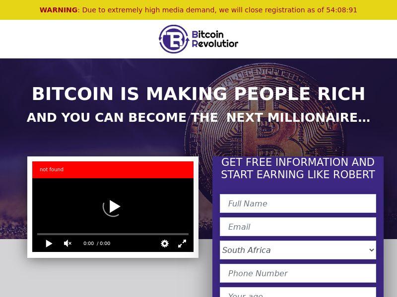 Bitcoin Revolution CPL ZA